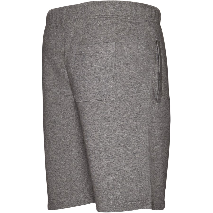 COLLEGE SWEAT SHORT I024673 - College Sweat Shorts - Shorts - Regular - GREY HTR/WHITE - 3